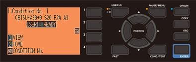 Graphtec_FCX2000_Control_panel